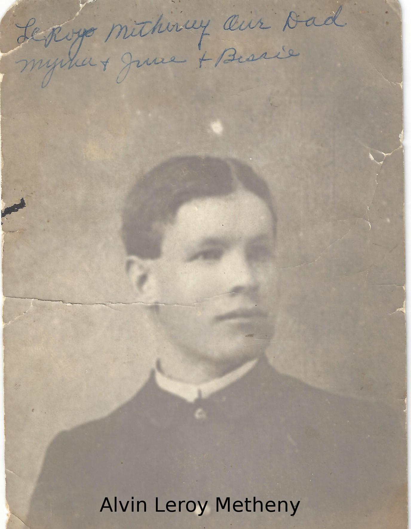Alvin Leroy Metheny (cropped)