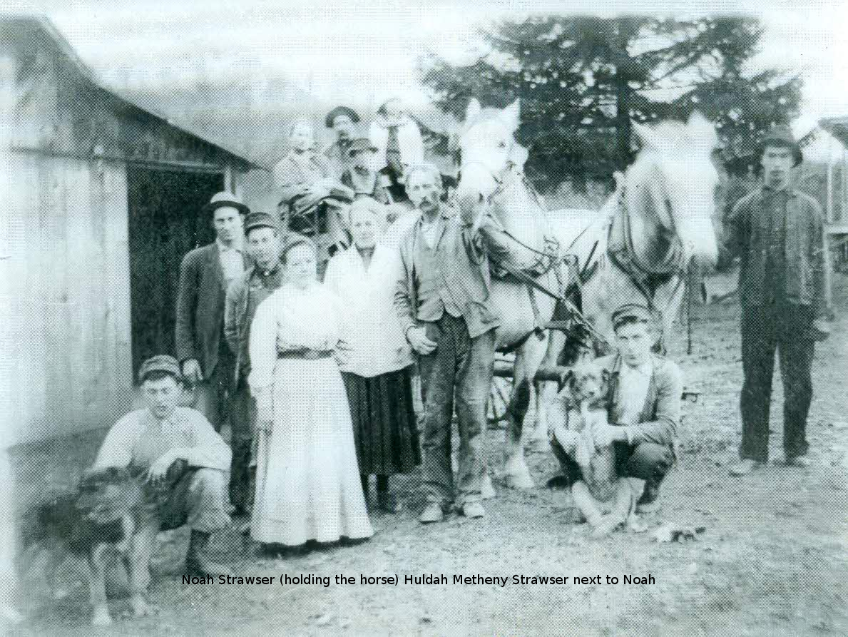 Noah and Huldah Group pic(with horses) Curtsey Janice Cale Sisler
