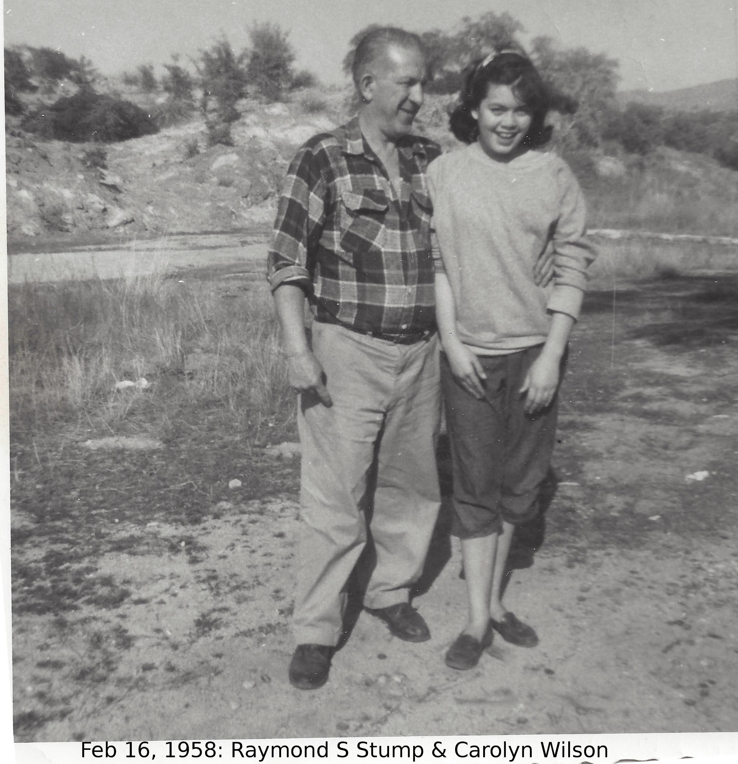 Raymond Stump and Carolyn Wilson
