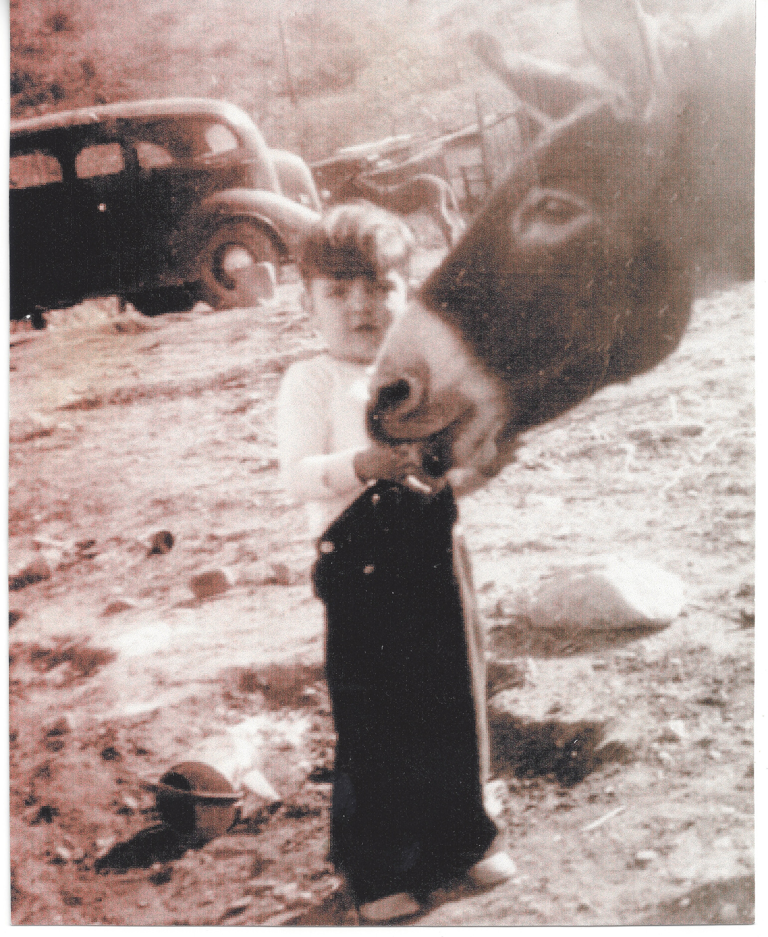 Skip WIlson with Donkey 1