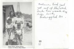 Arlene Wilson_Shirley Stump and Carolyn and Willard (Skip) Wilson font and Back
