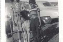 Carolyn Skipper and dog
