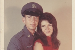 Mike Oerly and Freda Wheeler