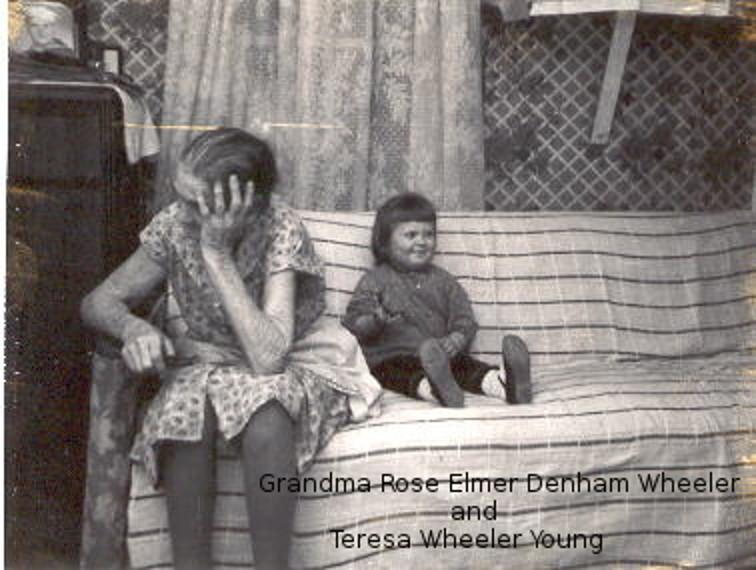 Grandma Rose and Teresa