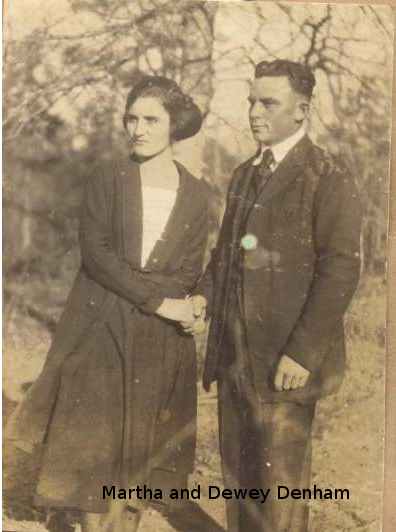 Martha and Dewey Denham